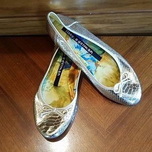 Libby. Edelman Alex Slip On Flat Shoes